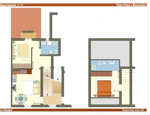 Appartamento Fano Mare – Via Polidori 8 – Int. 4