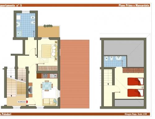Appartamento Fano Mare – Via Polidori 8 – Int. 5
